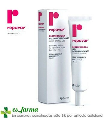 Repavar Regeneradora Gel Despigmentante 15 Ml Whitening Gel Dark Spots