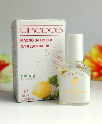 IKAROV Nail Oil Strengthening Nail - Natural Product, FREE  UK  DELIVERY