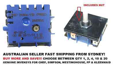 GENUINE MP-101 Stove Hotplate Control Simmerstat Thermostat Switch Chef Simpson