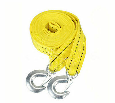 Two-layer Thick Trailer Rope 5 Ton  4mThick Trailer Rope Car Trailer Rope