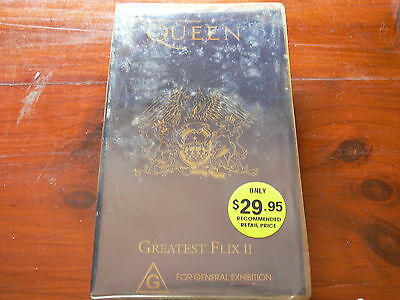Queen: Greatest Flix II, VHS PAL, 1991
