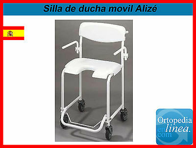 Silla de ducha movil - Invacare Alize
