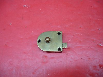 Vintage Antique Original Concealed Release Trigger Brass Latch Hardware