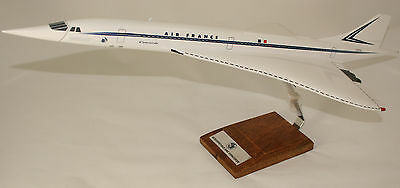 Concorde In Original Air France Livery - Amazing Large 1:100 Scale Desktop Model