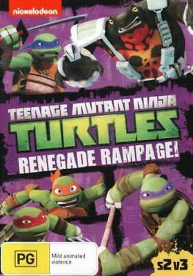 Teenage Mutant Ninja Turtles - Renegade Rampage! DVD R4