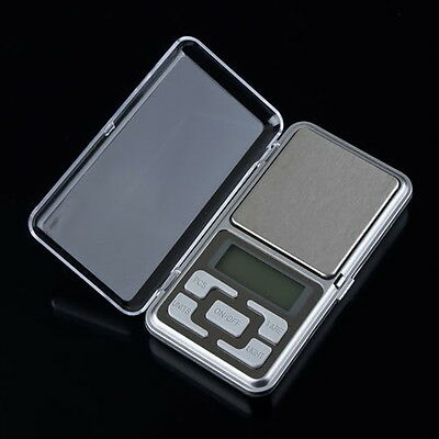 Stainless steel 500g 0.1g Digital Electronic LCD Jewelry Pocket Weight Scale EC