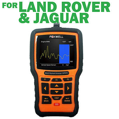 Foxwell NT510 OBD2 OBD1 Scan Tool For Land Rover and Jaguar Reset Code Reader