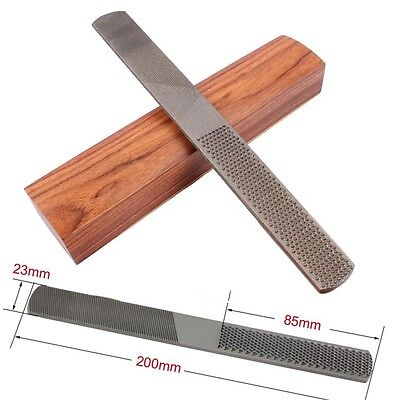 4in1 4-Way Pro Woodworking Tools 8'' Cusp Rasp Bastard File Wood Carpenter Mill