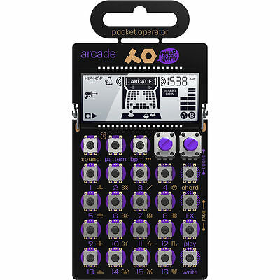 Teenage Engineering PO-20 Pocket Operator Arcade Video Game Sounds Synthesizer