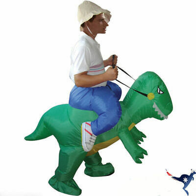 Dinosaur Fancy Dress Inflatable Suit - Fan Operated Costume AU POST