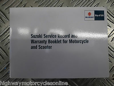 Suzuki Gsxr Gsx-R 600 750 1000 All Models Genuine Service Book New Blank