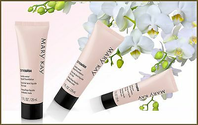 Lot of 2 Mary Kay TimeWise 2 Matte-Wear Foundation- FRESH FULL SIZE.12 Farbe