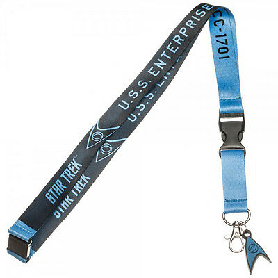 Star Trek Blue Member Lanyard