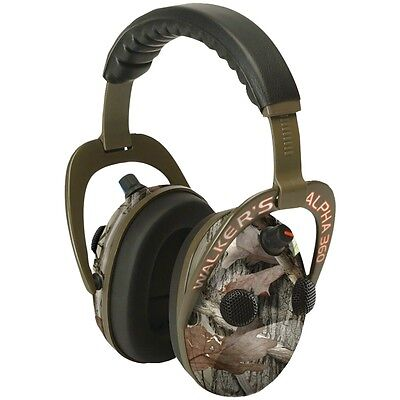 NEW Walkers Game Ear Gwp-am360nxt Alpha Power Muff Quad 360 Camo Headphones With