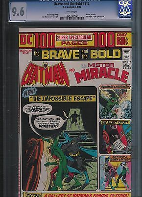 Brave and the Bold # 112 CGC 9.6  White Pages. UnRestored.
