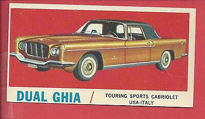 1961 Topps Sports Cars # 42