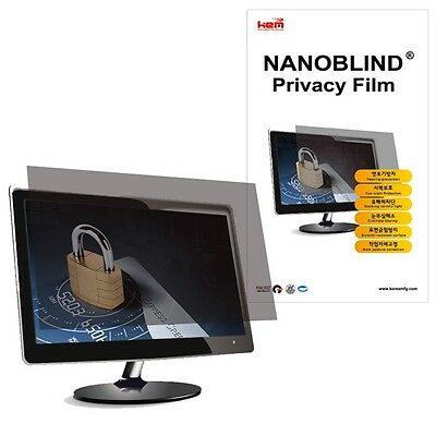 """22"""" inch WIDE (475x297.5mm) NANOBLIND Privacy Screen Filter for PC LCD Monitor"""