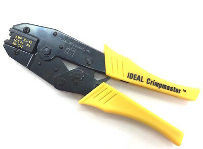 RJ-45 AMP Ideal Ratcheting Crimp Tool