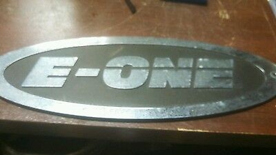 Large e-one emblem for a fire truck or man cave