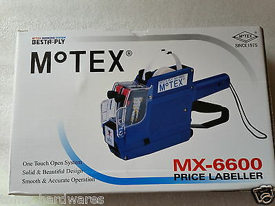 GENUINE MOTEX MX-6600/MX6600 Price gun (with Hologram) 2LINES- Made In KOREA