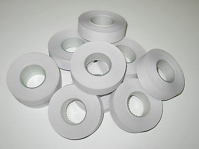 10-100x Rolls of White Paper Labels 16x23mm for Motex MX-6600 etc.. MELBOURNE