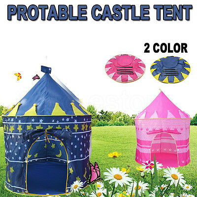 Kids Children Play Tent Castle Princess Playhouse Indoor Outdoor Toy Gift Party