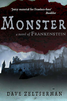 Monster A Novel of Frankenstein by Dave Zeltserman NEW BOOK (Paperback, 2013)