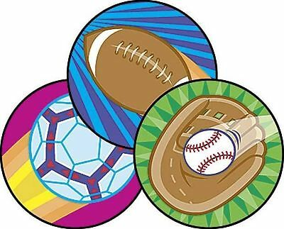 60 TREND Spectacular Sports (Leather) Scratch n Sniff Reward Stickers