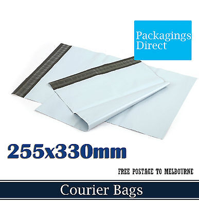 100 Courier Bag #02 255x330mm - Poly Mailer Plastic Mailing Satchel