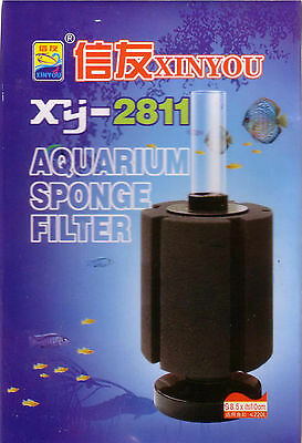 Aquarium Internal Sponge Filter for tanks up to 140l XY-2811 Multi Buy