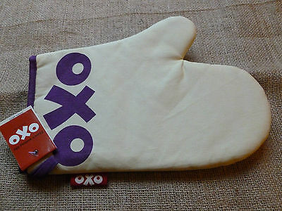 Retro Oxo Logo Single Oven Mitt. Bnwt. Housewarming Gift.