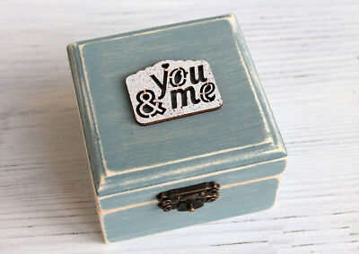 Wedding ring box, ring box, ring holder, proposal box, personalized ring holder.