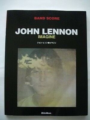 John Lennon Imagine Japan Band Score Guitar Tab