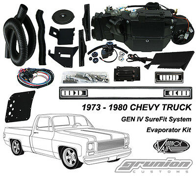 Chevy Truck NO AC 1973-1980 Vintage Air Conditioning Evaporator Kit 751175