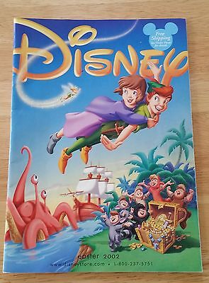 Vintage Issue 2002 Disney Store Catalog Ordering Magazine Easter Holiday