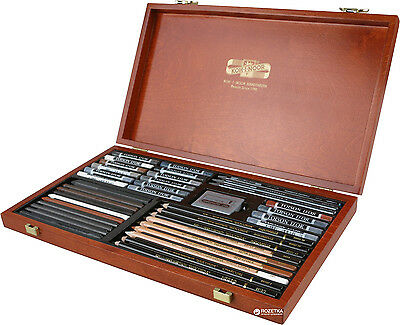 Artistic set ARTSET GIOCONDA 8895 KOH-I-NOOR in a wooden box