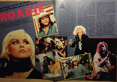 2 german clipping BLONDIE NOT SHIRTLESS LIVE PUNK ROCK BOY BAND BOYS TEEN 1978