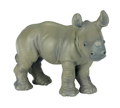 Papo 50035 Rhinoceros Calf  Model Wild Animal FigurineToy Replica Gift - NIP