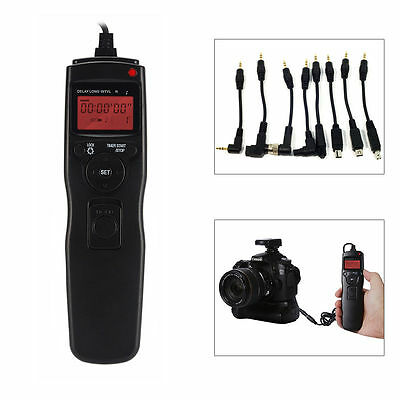 Time Lapse Intervalometer Timer Remote Shutter Release for Canon 7D 60D 70D 700D