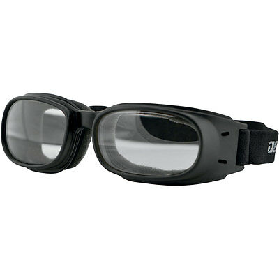 Bobster Clear Piston Motorcycle Riding Goggles
