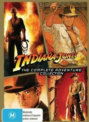 Indiana Jones: The Complete Adventure Collection1-4  DVD R4