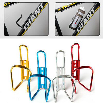 Bike Bicycle Cycling Mountain Sport Water Bottle Aluminum Cage Holder UK Stock