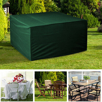 4-6 seater Quality Waterproof Outdoor Garden Furniture Stacking Chair Cover