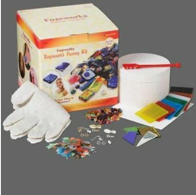 Fusing glass starter kit, Fusework™, includes microwave kiln. Sold individually.