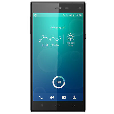 Phicomm Passion Handy schwarz 5 Zoll 32GB Dual Sim Android LTE