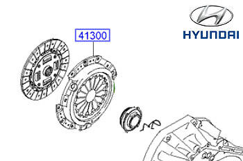 Genuine Hyundai i10 Clutch Cover - 4130002810