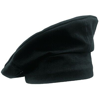 Chef Works Toque Black Chefs Hat Chefs Clothing Cooking Catering Black One Size