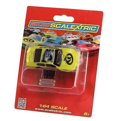 G2158 Scalextric - Micro US Stock Car - Green 6 - 1:64 Scale New