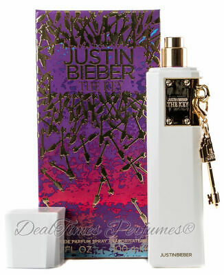 Justin Bieber THE KEY Perfume for Women 3.4 oz EDP NEW IN BOX SEALED
