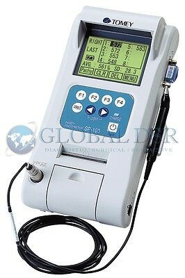 Tomey SP-100 Pachymeter NEW with 1 year Warranty